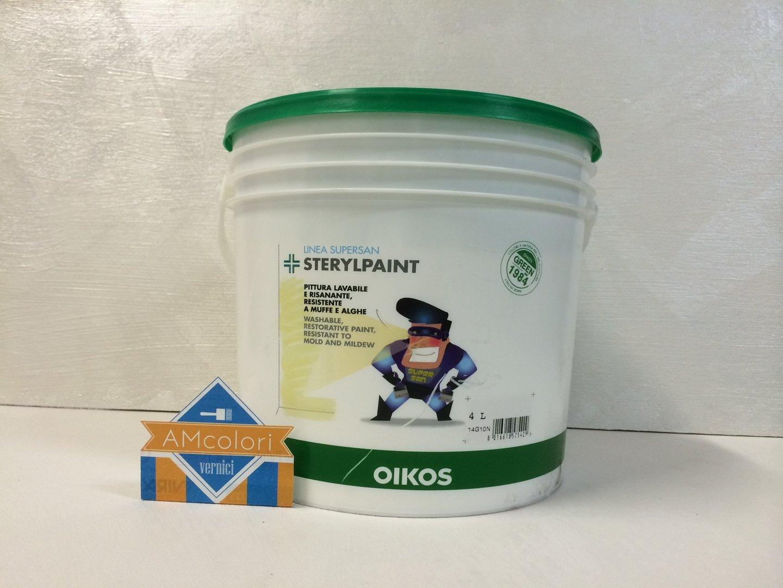 Sterylpaint oikos prezzo colori per dipingere sulla pelle for Pittura brillantinata oikos